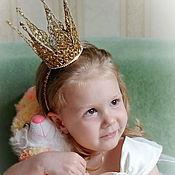 Работы для детей, ручной работы. Ярмарка Мастеров - ручная работа Корона Золотко. Handmade.
