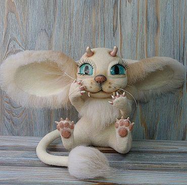 """Куклы и игрушки ручной работы. Ярмарка Мастеров - ручная работа """"Лимурин - друг троллей! """" Коллекционная кукла,мышка. Handmade."""