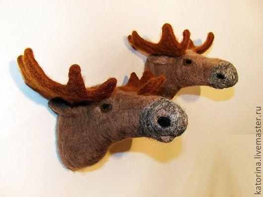 Оригинальный трофей для охотников и любителей животных. Интересный и неожиданный подарок.\r\nРучная работа.