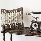 Для дома и интерьера ручной работы. Ярмарка Мастеров - ручная работа Декоративная подушка. Handmade.