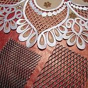 Материалы для творчества ручной работы. Ярмарка Мастеров - ручная работа инструменты для выжигания по ткани (сеточки). Handmade.