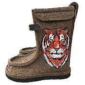 Обувь ручной работы handmade. Livemaster - original item Copy of Felt boots. Handmade.