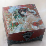Для дома и интерьера handmade. Livemaster - original item the box is a large