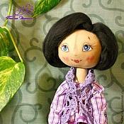 Куклы и игрушки ручной работы. Ярмарка Мастеров - ручная работа кукла текстильная Тамара. Handmade.