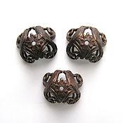 Материалы для творчества handmade. Livemaster - original item Bead caps