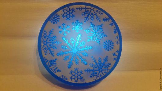 """Мыло ручной работы. Ярмарка Мастеров - ручная работа. Купить Мыло""""Снегопад"""". Handmade. Разноцветный, снежинка, снежный, Новый Год"""