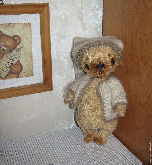 Мишки Тедди ручной работы. Ярмарка Мастеров - ручная работа. Купить мишка. Handmade. Бежевый, мохер для мишек Тедди