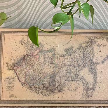 Картины и панно ручной работы. Ярмарка Мастеров - ручная работа Карта России. Handmade.