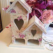 """Для дома и интерьера ручной работы. Ярмарка Мастеров - ручная работа Чайный домик """"Розовое утро"""". Handmade."""