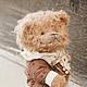 Мишки Тедди ручной работы. Заказать Пьер. авторский мишка тедди ручной работы. МАСТЕРСКАЯ СОВА. TEDDY-BEAR ART. Ярмарка Мастеров.