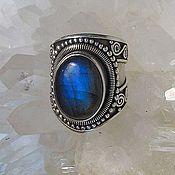 Украшения handmade. Livemaster - original item A ring with labradorite. Handmade.