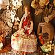 Куклы Тильды ручной работы. Заказать Тильда в стиле Бохо: Варварушка интерьерная текстильная кукла. Оксана Фирсова. Ярмарка Мастеров.