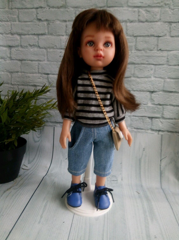 Комплект Бермуды+свитшот+сумочка для Паола Рейна, Одежда для кукол, Самара,  Фото №1