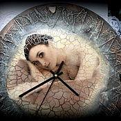 Для дома и интерьера ручной работы. Ярмарка Мастеров - ручная работа Большие интерьерные часы.. Handmade.