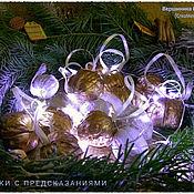Подарки к праздникам ручной работы. Ярмарка Мастеров - ручная работа Орешки с предсказаниями. Handmade.