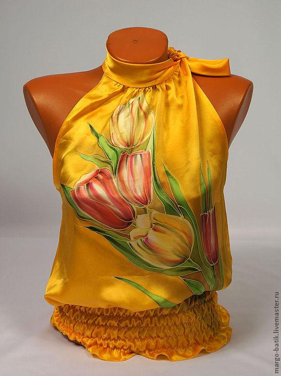 Блузки из шелка купить доставка