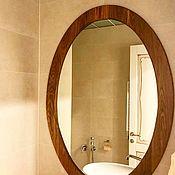 Для дома и интерьера ручной работы. Ярмарка Мастеров - ручная работа Овальное зеркало. Handmade.