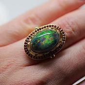 Украшения handmade. Livemaster - original item An opal ring,