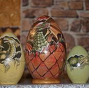 Русский стиль handmade. Livemaster - original item matryoshka Dragon Egg. Handmade.