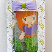 Куклы и игрушки ручной работы. Ярмарка Мастеров - ручная работа Куколки из фетра с одеждою в подарочной упаковке. Handmade.