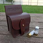 Сувениры и подарки handmade. Livemaster - original item Closed belt cartridge bag mod.CP 25.1, 12 gauge. Handmade.