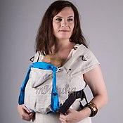 """Одежда ручной работы. Ярмарка Мастеров - ручная работа Эргономичный рюкзак """"Натур"""". Handmade."""