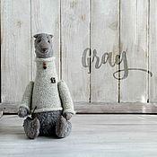 Куклы и игрушки ручной работы. Ярмарка Мастеров - ручная работа Мишка Gray. Handmade.