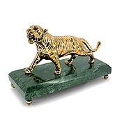Для дома и интерьера handmade. Livemaster - original item Tiger on the coil. Handmade.