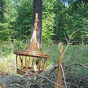 Для домашних животных, ручной работы. Ярмарка Мастеров - ручная работа Кормушки для белочек и птичек плетеные. Handmade.