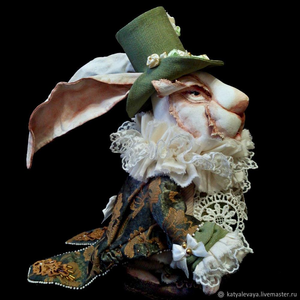 Мистер Кролл - Белый кролик, Куклы и пупсы, Москва,  Фото №1