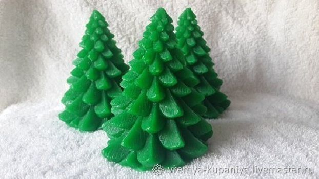 silicone mold for soap christmas tree 3d 2 silicone