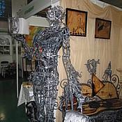"""Для дома и интерьера ручной работы. Ярмарка Мастеров - ручная работа Арт.28   кованая скульптура """"Сальвадор Дали"""". Handmade."""