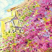 Картины и панно handmade. Livemaster - original item Oil painting on canvas. Flowering summer.. Handmade.