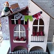 """Для дома и интерьера ручной работы. Ярмарка Мастеров - ручная работа Домик для чая """"Под крышами Стокгольма"""". Handmade."""