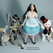 Куклы и игрушки handmade. Livemaster - original item Alice and her friends (12.5 cm). Handmade.