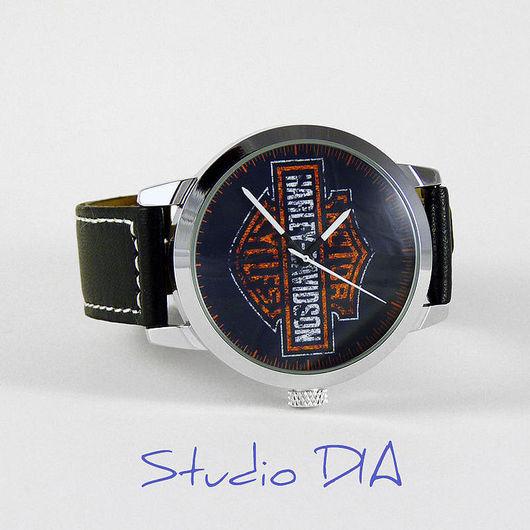 Часы Harley Davidson Moto. Студия Дизайнерских Часов DIA.