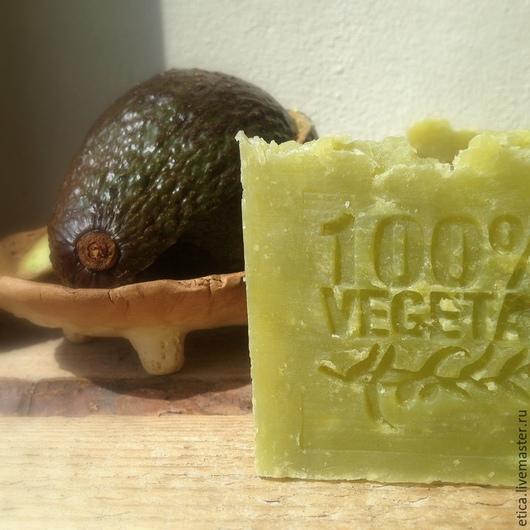 """Мыло ручной работы. Ярмарка Мастеров - ручная работа. Купить Мыло натуральное """"АВОКАДО"""". Handmade. Мыло с нуля, масло авокадо"""