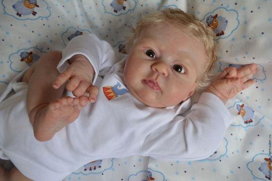 Куклы-младенцы и reborn ручной работы. Ярмарка Мастеров - ручная работа. Купить Кукла реборн из молда Мио. Handmade. Бежевый