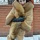 Верхняя одежда ручной работы. Шикарное пальто зимнее с лисой. Ирина (dneproart). Ярмарка Мастеров. Пальто с капюшоном