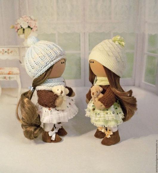Коллекционные куклы ручной работы. Ярмарка Мастеров - ручная работа. Купить Куклы малютки.. Handmade. Интерьерные куклы