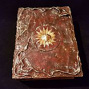 Для дома и интерьера handmade. Livemaster - original item Box -Tome,an Ancient book, the Tome-decoupage. Handmade.