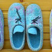Обувь ручной работы. Ярмарка Мастеров - ручная работа Тапки-кеды. Handmade.