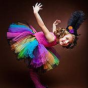 """Работы для детей, ручной работы. Ярмарка Мастеров - ручная работа """"Веселая карусель"""" пышная юбка-пачка из фатина. Handmade."""