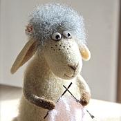 Куклы и игрушки ручной работы. Ярмарка Мастеров - ручная работа Овечка Циля. Handmade.