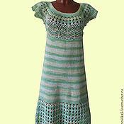 Одежда ручной работы. Ярмарка Мастеров - ручная работа Платье Лимон и мята.. Handmade.