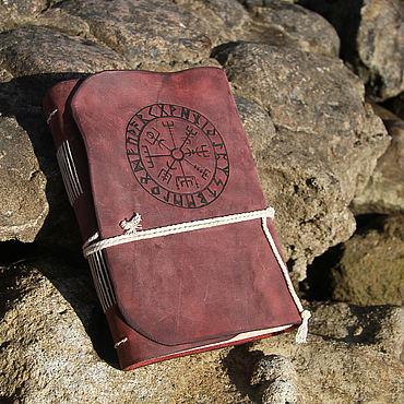 Stationery handmade. Livemaster - original item Vegvisir Notebook. Handmade.