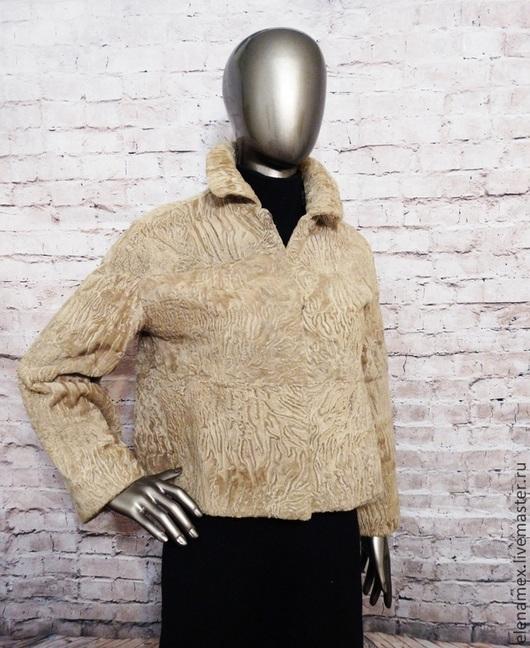 Верхняя одежда ручной работы. Ярмарка Мастеров - ручная работа. Купить Жакет из каракуля swakara. Handmade. Каракуль, swakara, одежда