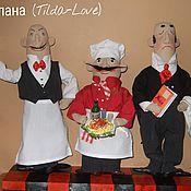 """Куклы и игрушки ручной работы. Ярмарка Мастеров - ручная работа Трио """"Buon appetito!"""". Handmade."""