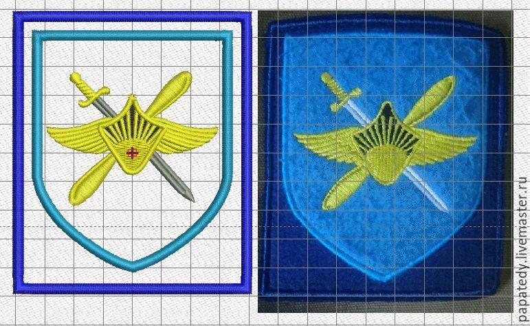 военные шевроны на заказ  дизайны машинной вышивки, Иллюстрации, Кишинев,  Фото №1