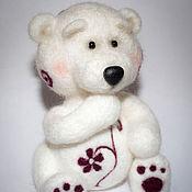 Куклы и игрушки ручной работы. Ярмарка Мастеров - ручная работа Мишка цветочный. Handmade.